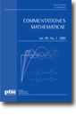 Commentationes Mathematicae